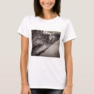 第7道の通りの崩壊ニューヨークシティ1915年 Tシャツ