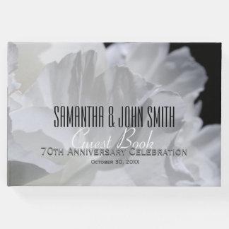第70結婚記念日のパーティーのシャクヤクの来客名簿2 ゲストブック
