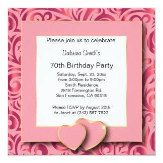 第70誕生会| DIYの文字 カード