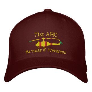 第71 AHCベトナムのUH1によって刺繍される帽子 刺繍入りキャップ