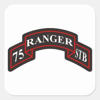 第75レーンジャー連隊の特別な軍隊の大隊 スクエアシール