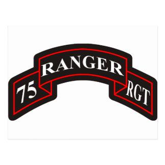 第75レーンジャー連隊 ポストカード