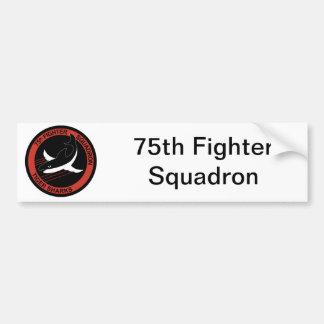 第75要撃飛行隊の記章 バンパーステッカー