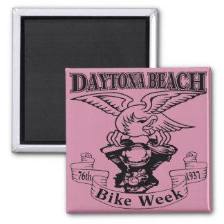 第76 Daytona Beachのバイク週のワシ1937年 マグネット