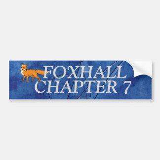 第7 FOXHALLの章のバンパー バンパーステッカー