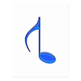 第8作成される音符の逆転させた大きい2010年 ポストカード