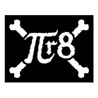 第8力=海賊へのPi Xの半径 ポストカード