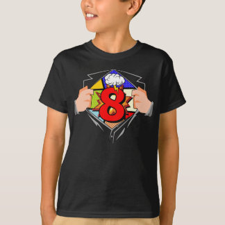 第8誕生日の漫画 Tシャツ