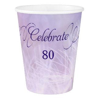 第80誕生会のカスタムな紙コップ 紙コップ