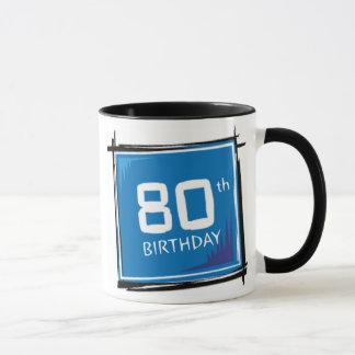 第80誕生日プレゼントのマグ マグカップ