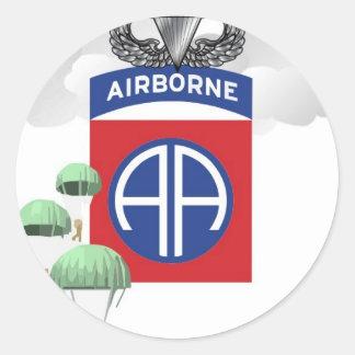 第82の落下傘兵、年長のジャンプの翼空輸 ラウンドシール