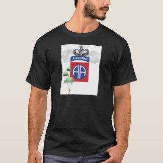 第82の落下傘兵、年長のジャンプの翼空輸 Tシャツ