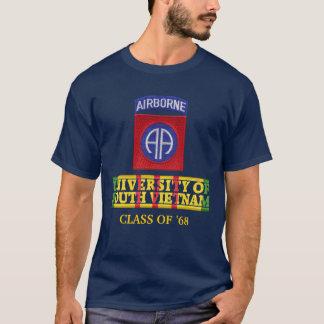 第82南ベトナムのワイシャツのAbne Div大学 Tシャツ