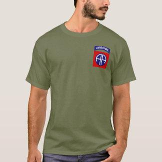 第82空挺師団のティー Tシャツ
