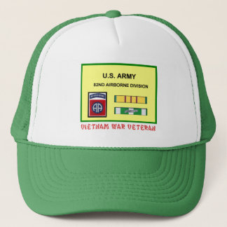 第82空挺師団のベトナム戦争の獣医 キャップ