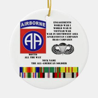第82空挺師団の婚約 セラミックオーナメント