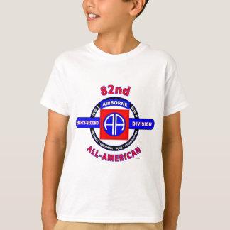 """第82空挺師団""""すべてのアメリカの""""部分 Tシャツ"""