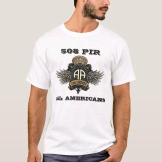 第82空輸の508 PIRすべてのアメリカ人Fort Bragg Tシャツ