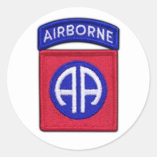 第82 ABN空輸DivはLRRPを診察します ラウンドシール
