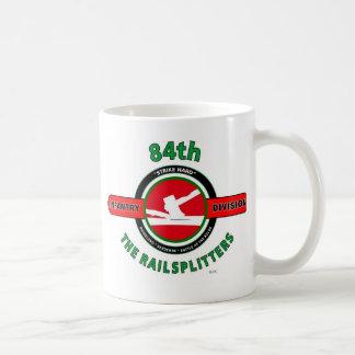 """第84歩兵部隊""""RAILSPLITTERS """" コーヒーマグカップ"""