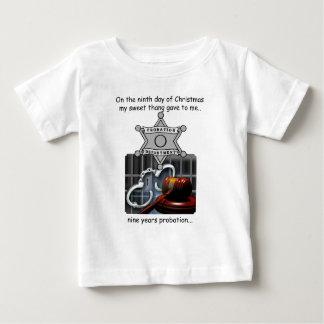第9日のレッドネックのクリスマス ベビーTシャツ