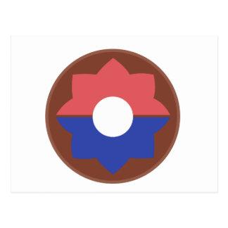 第9歩兵部隊 ポストカード
