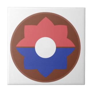 第9歩兵部隊 正方形タイル小