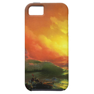 第9波、イヴァンAivazovsky iPhone SE/5/5s ケース