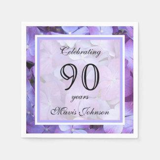 第90誕生会の紙ナプキン スタンダードカクテルナプキン