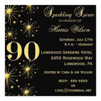 第90誕生日の招待状 カード