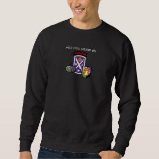 第91民事の大隊のスエットシャツ スウェットシャツ