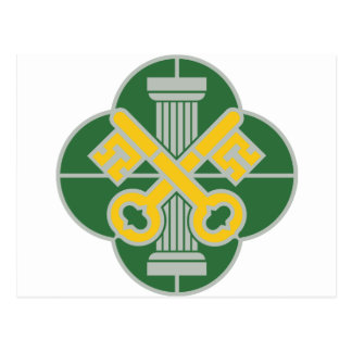 第93憲兵の大隊- DUI ポストカード