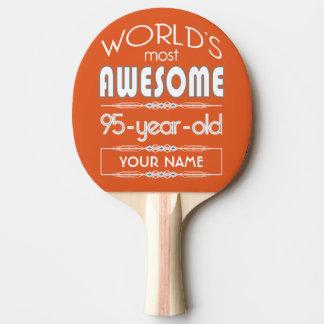 第95誕生日の世界の最も最高のですばらしい炎のオレンジ 卓球ラケット