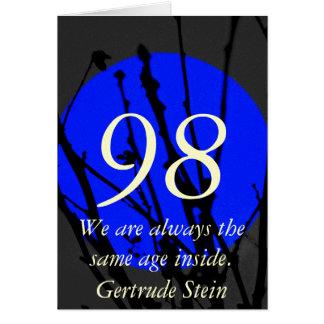 第98誕生日 カード