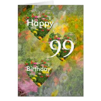 第99誕生日 カード