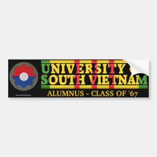 第9 Inf. Div. -南ベトナムの卒業生のステッカーのU バンパーステッカー