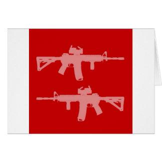 等しい銃はar15を訂正します カード