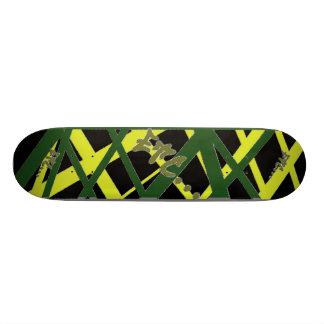 等… スタイルのジャマイカのくもの巣 18.4CM ミニスケートボードデッキ