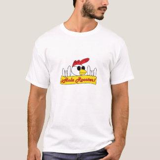 筋肉が張ったオンドリ Tシャツ