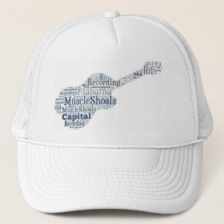 筋肉群れ、アラバマのトラック運転手の帽子 キャップ