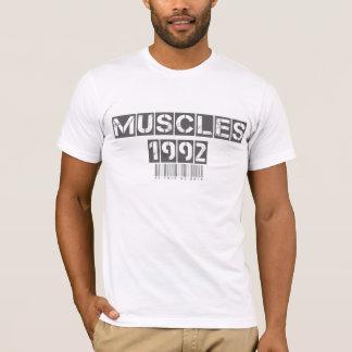 筋肉1992苦痛無し利益ワイシャツ無し Tシャツ