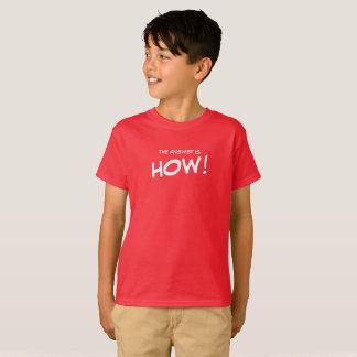 答えはいかにです! Tシャツ