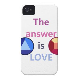 答えはです愛(v1) Case-Mate iPhone 4 ケース