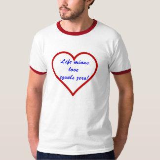 算術の愛 Tシャツ