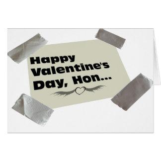 管によって録音されるバレンタイン グリーティングカード