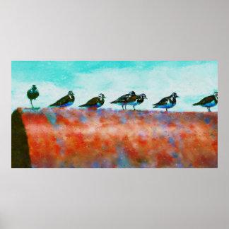 管の鳥 ポスター