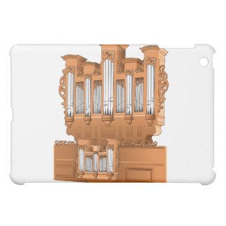 管器官、教会器官のグラフィックブラウン iPad MINI CASE