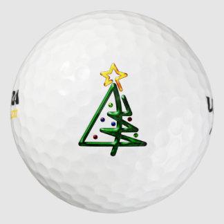 管状のクロムクリスマスツリー ゴルフボール
