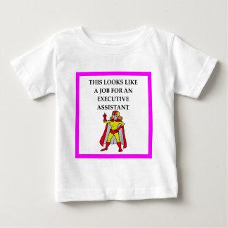 管理の助手 ベビーTシャツ