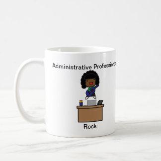 管理上のプロフェッショナルの石のアフリカ系アメリカ人 コーヒーマグカップ